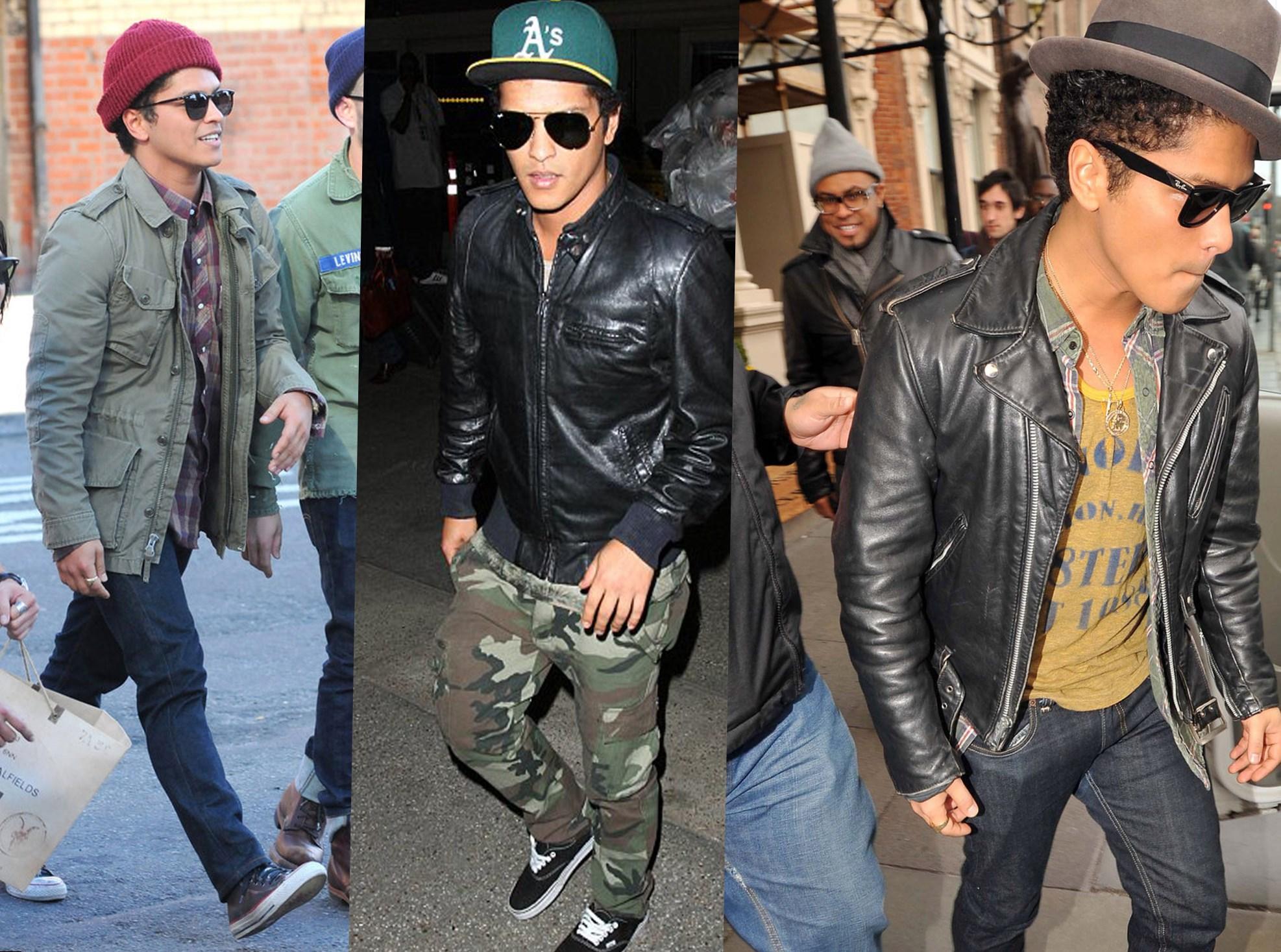 Bruno Mars Looks u0026 Style - photos