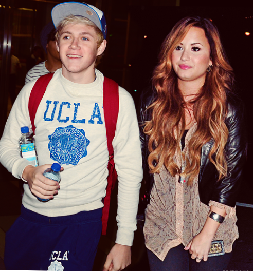 Niall en Demi Lovato dating