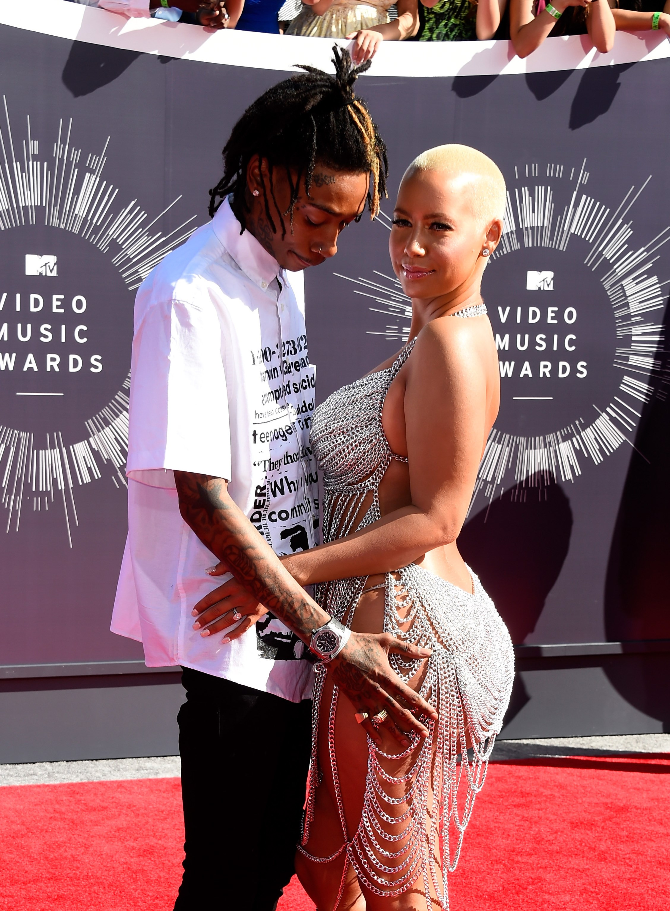 amber rose and wiz khalifa relationship