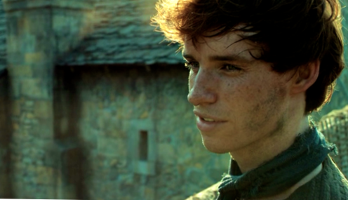 Eddie Redmayne in Pillars of the Earth