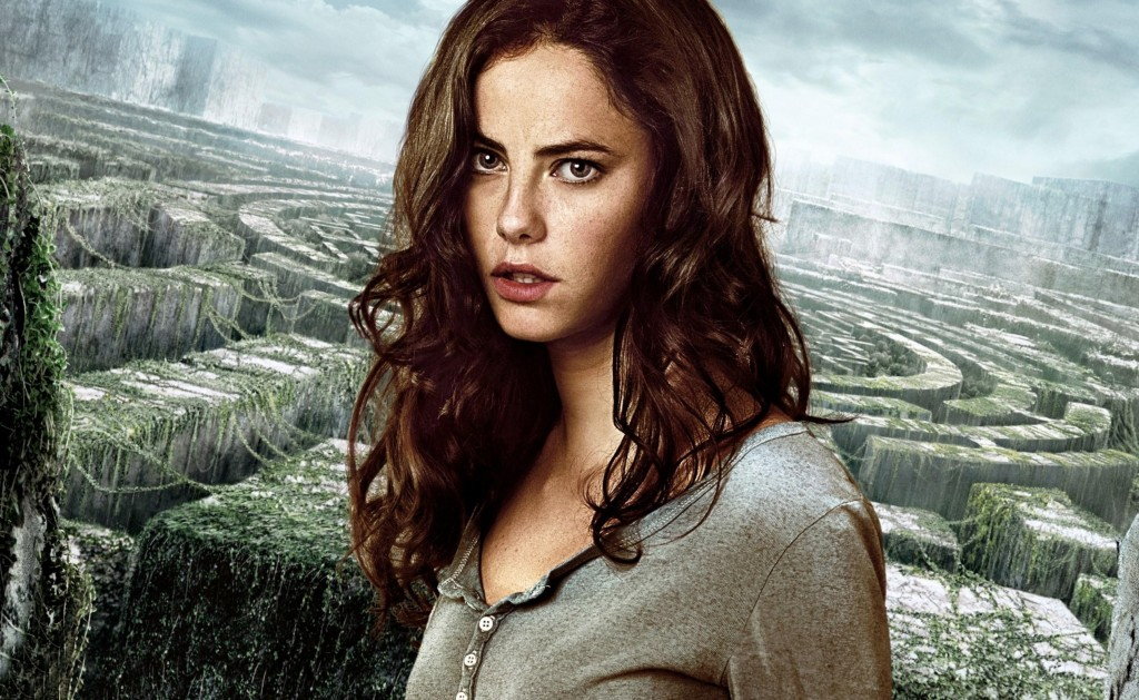 Kaya Scodelario in Maze Runner