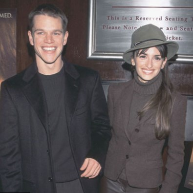 Matt Damon and Penelope Cruz