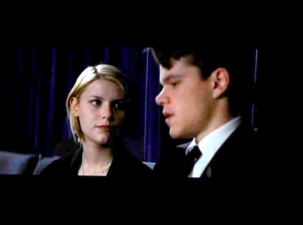 Matt Damon and Claire Danes