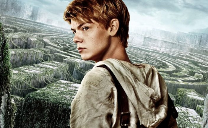Thomas Sangster in Maze Runner