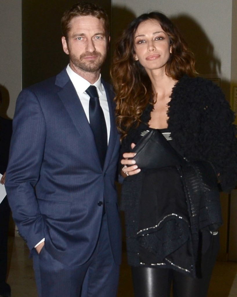 Michael Fassbender and Madalina Ghenea