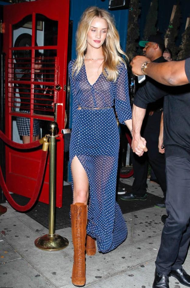 Rosie Huntington Whiteley Best Looks Style
