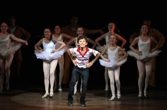 Tom Holland in Billy Elliot