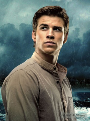 who does liam hemsworth play in hunger games
