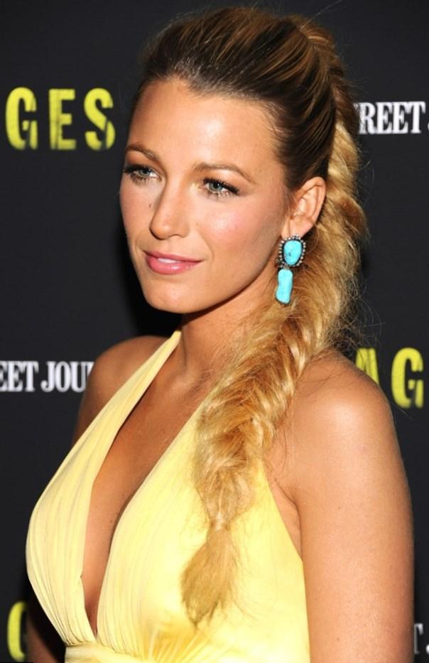 Blake Lively Celebrity Hair Changes