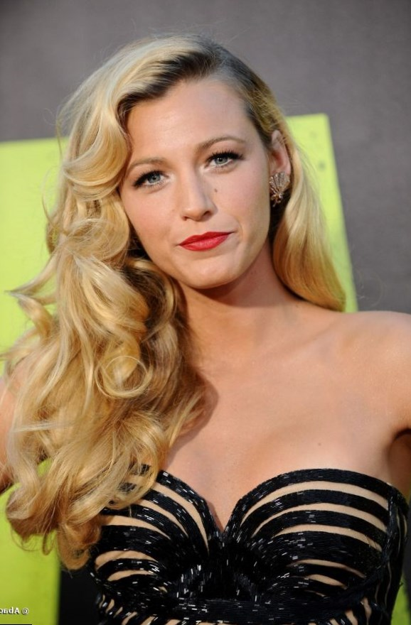 Blake Lively Celebrity Hair Changes