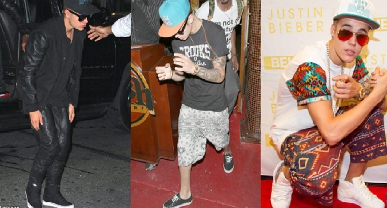 Justin Bieber - Celebrity Style