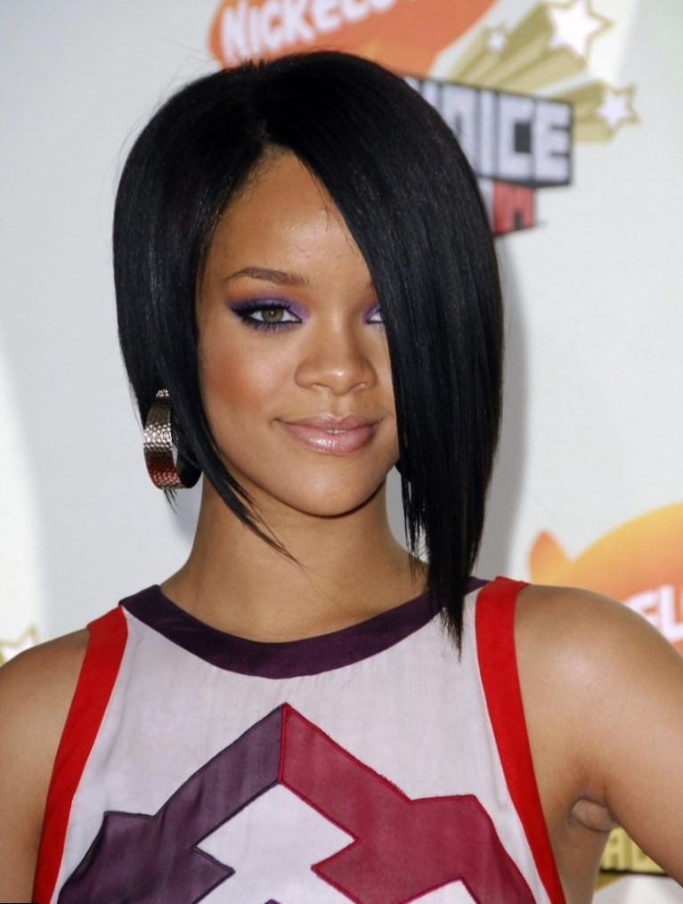 Rihanna - Celebrity Hair Changes