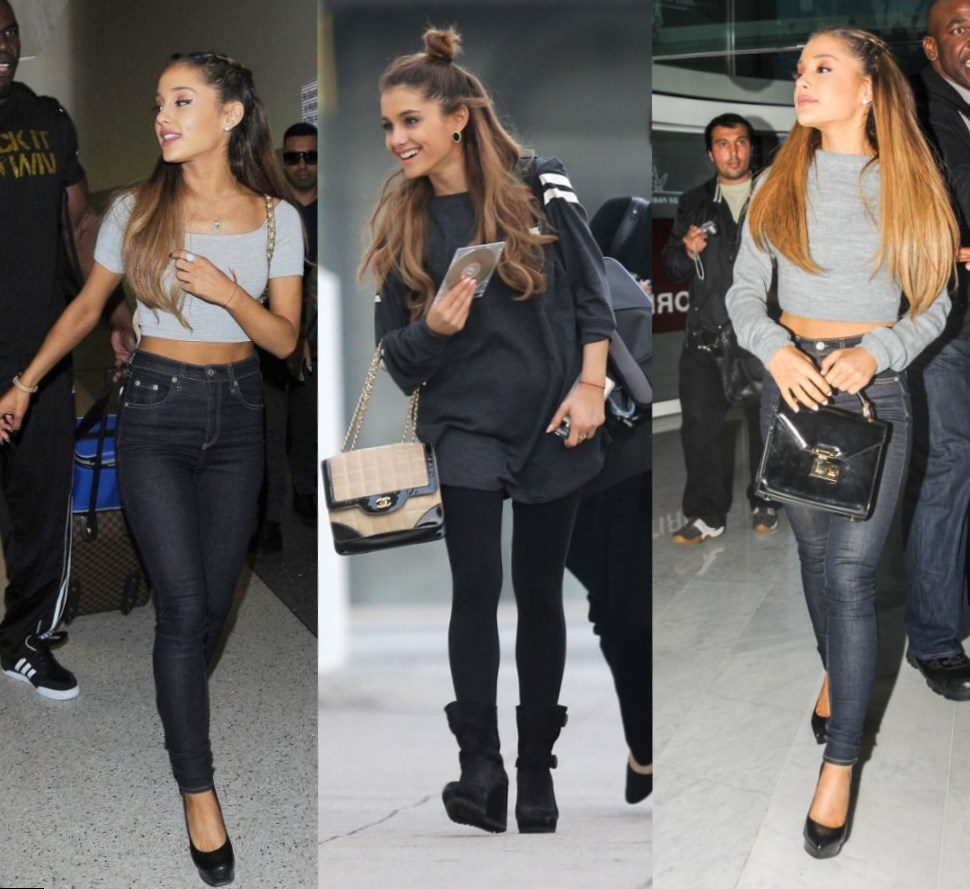 Ariana Grande Celebrity Looks And Style Must See
