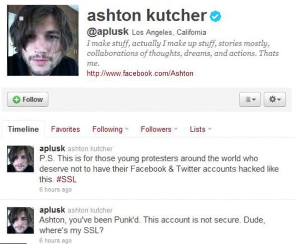 Ashton Kutcher Celebrity Bio Facts