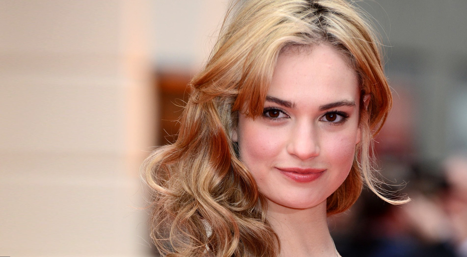 Lily James Image: Lily James Weight, Height And Age. We Know It All