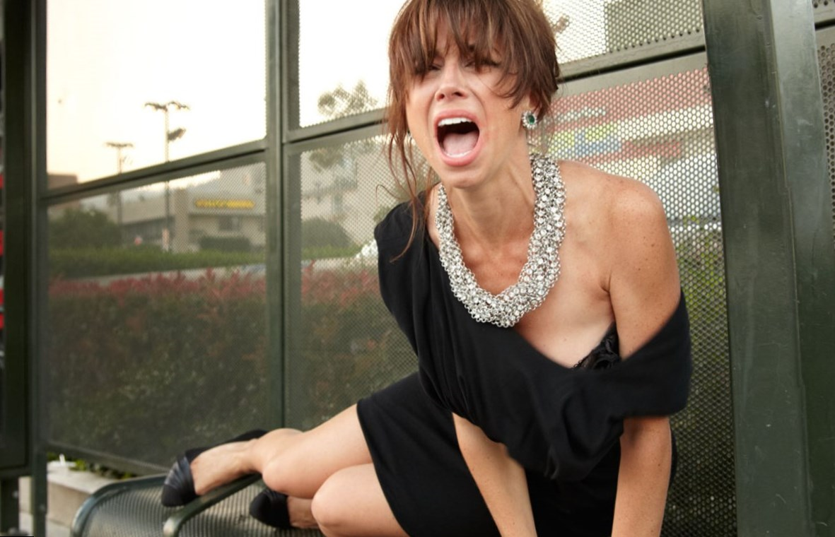 Can Natasha leggero fake boobs commit