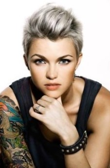 Ruby Rose Celebrity Hairstyles