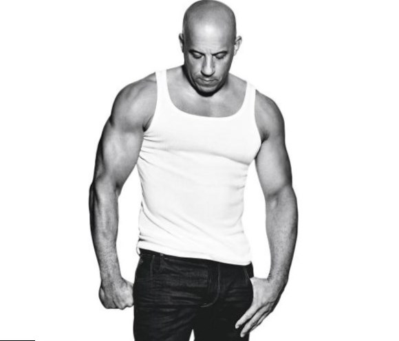 Vin Diesel weight, hei...