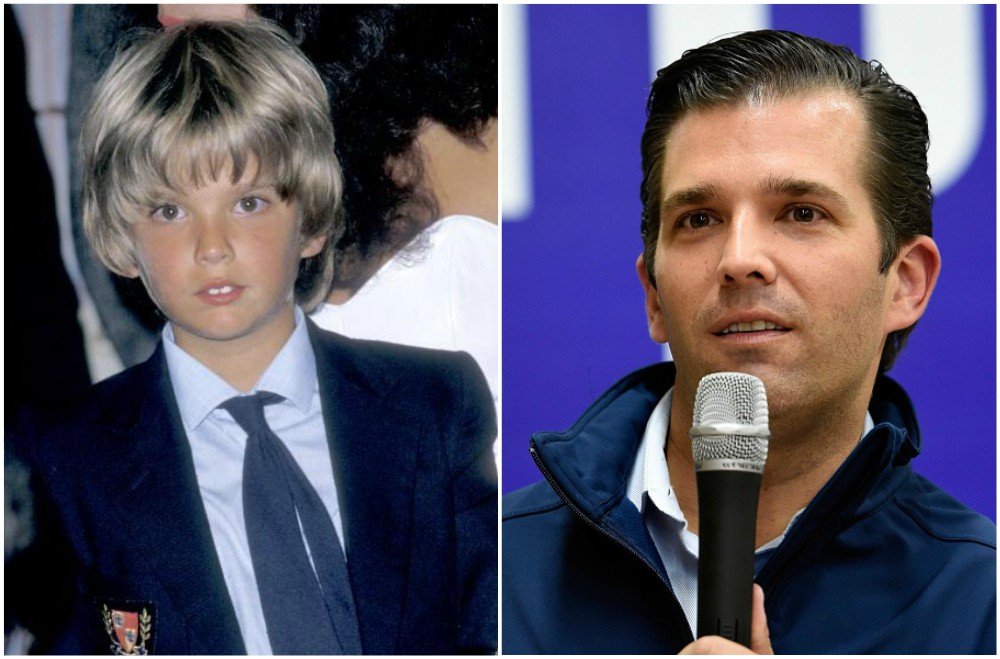 Donald Trump`s family - children Donald Trump Jr