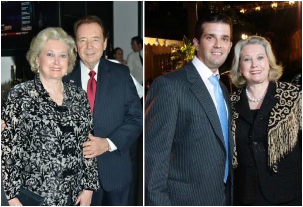 Donald Trump`s family - siblings Elizabeth Trump Grau