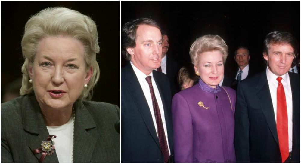 Donald Trump`s family - siblings Maryanne Trump Barry