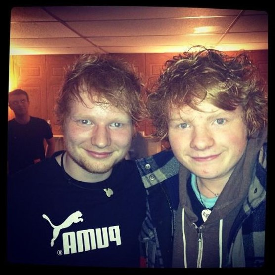 Ty Jones looks like Ed Sheeran