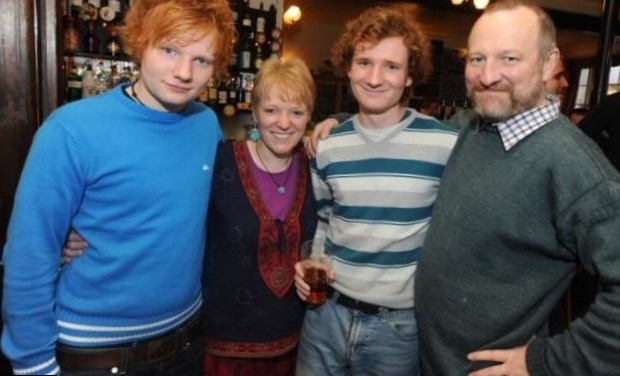 Ed Sheeran Parents