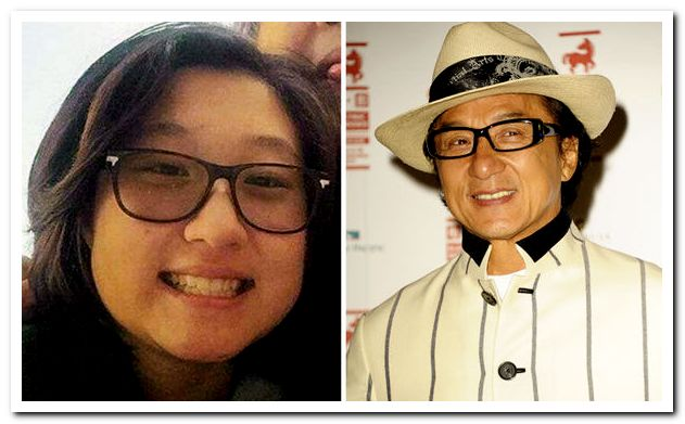 Jackie Chan family: si...