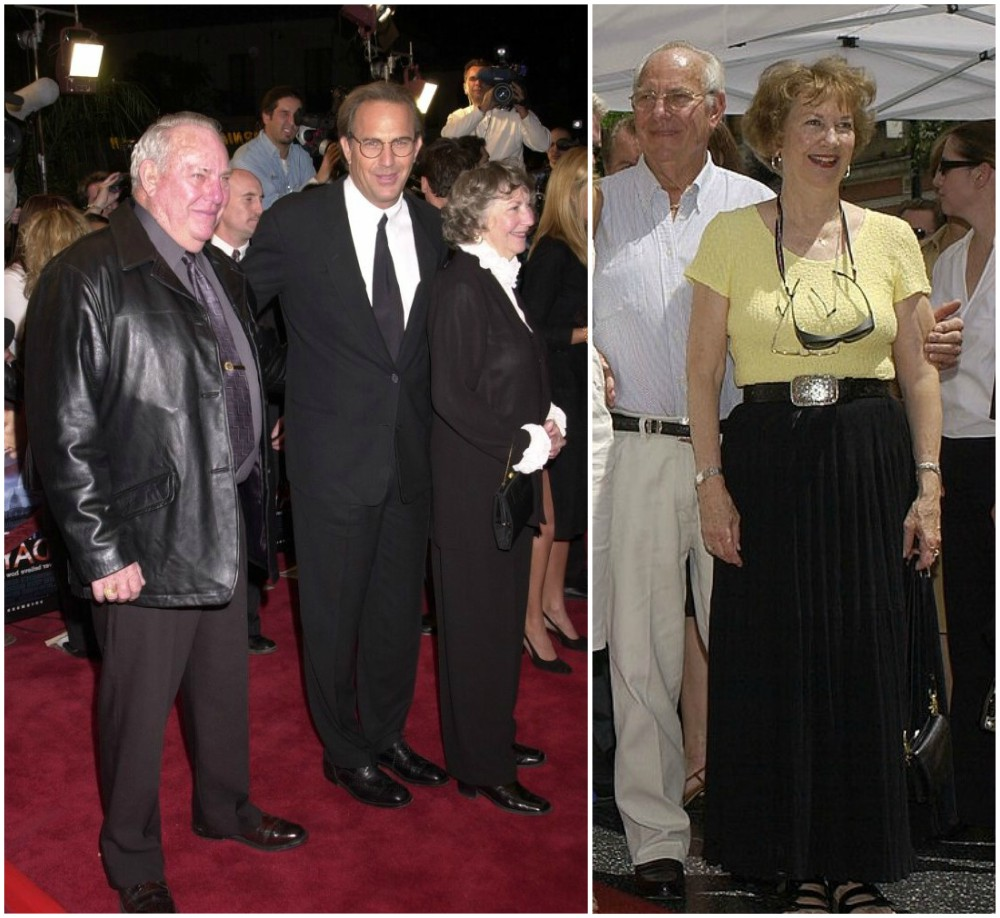Kevin Costner parents: Bill and Sharon Costner