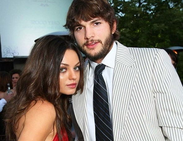 Ashton Kutcher Family