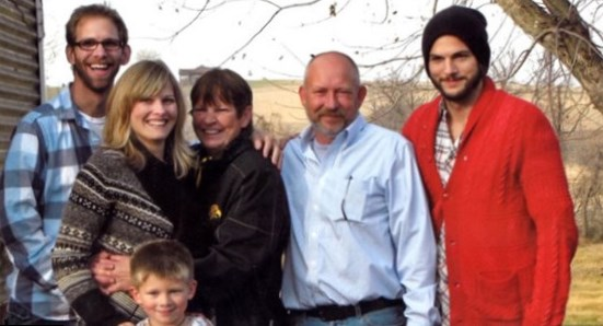 Ashton Kutcher  Parents
