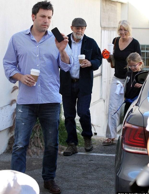 Ben Affleck Family
