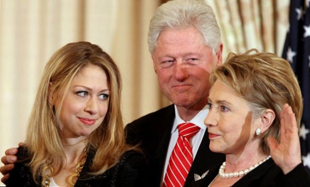 Bill Clinton Family