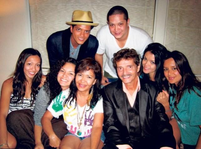Bruno Mars Familie