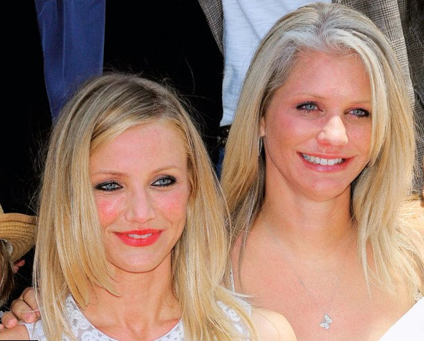 Cameron Diaz Family