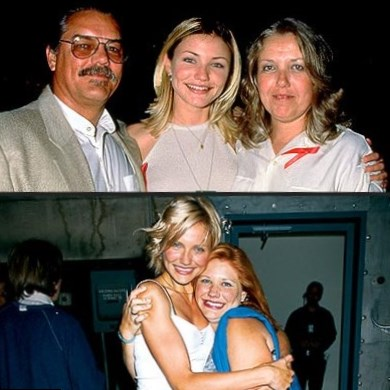 Cameron Diaz  Parents
