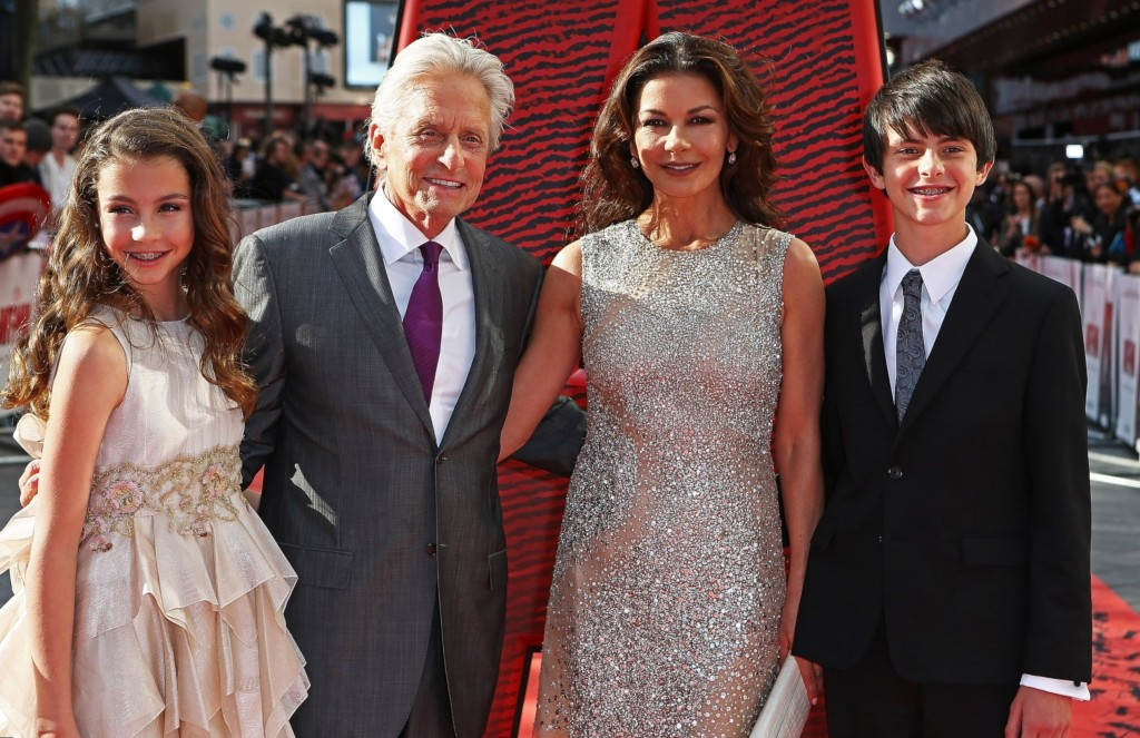 Catherine Zeta Jones Family