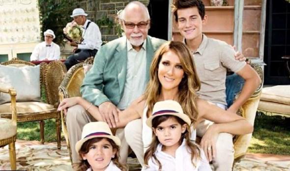 Celine Dion Family