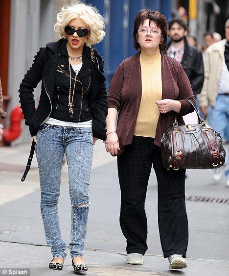 Christina Aguilera Parents