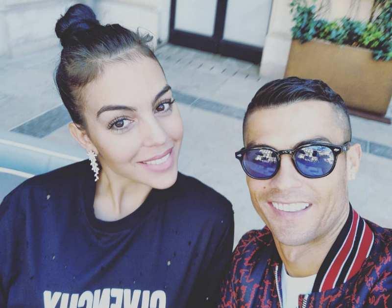 Cristiano Ronaldo family - wife Georgina Rodriguez