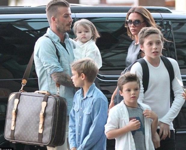 David Beckham Family