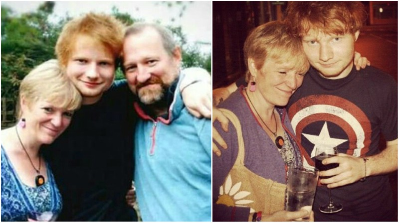 Ed Sheeran`s family - parents