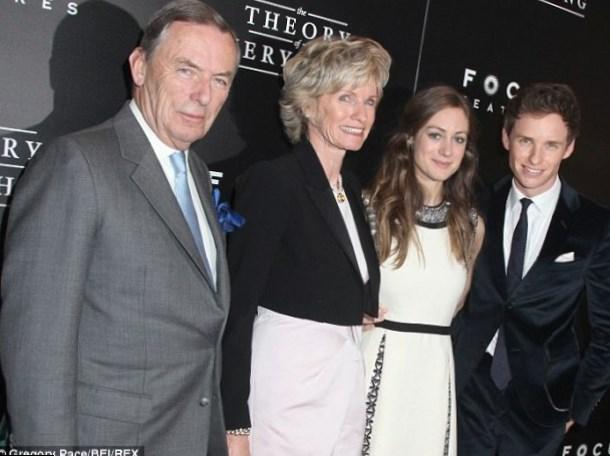 Eddie Redmayne Family