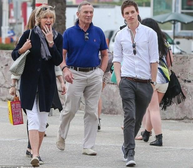 Eddie Redmayne Parents
