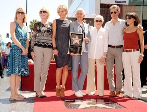 Ellen DeGeneres Family