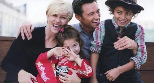 Hugh Jackman Family