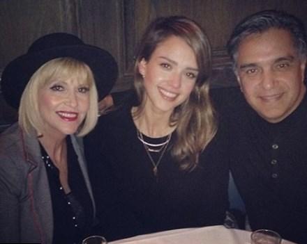 Jessica Alba parents