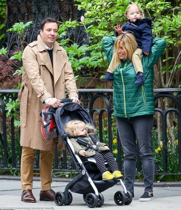 Jimmy Fallon Family