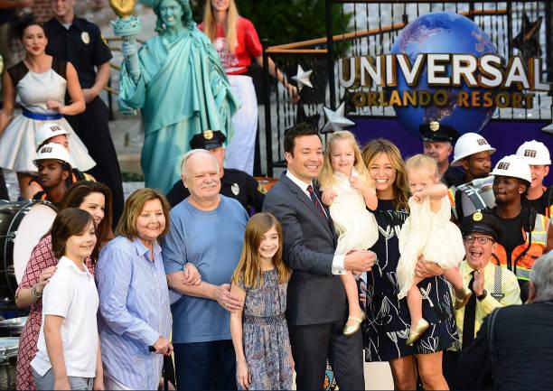 Jimmy Fallon's whole family