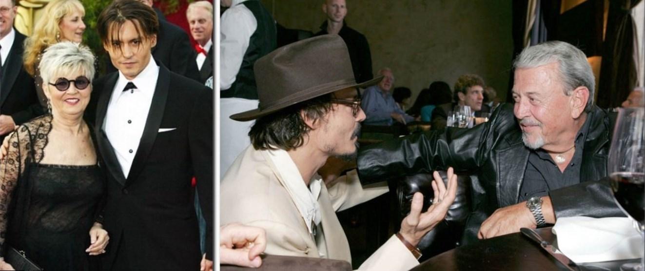 Johnny Depp Parents